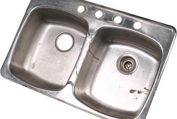 Stainless Steel Sinks Are Fairly Durable, But They Can Be Scratched.