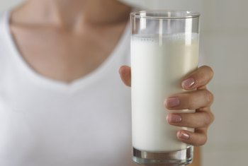 Opt for lactose-free milks like soy, rice or almond milk.
