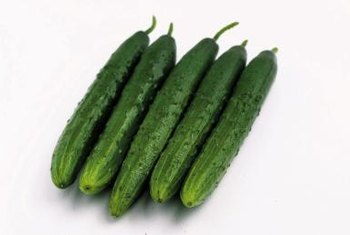 Cucumbers need warm soil and summer sunshine.