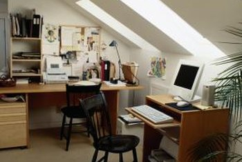How To Organize A Home Office With Three Desks Home Guides Sf Gate