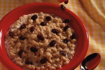 Oats are a good source of soluble fiber.