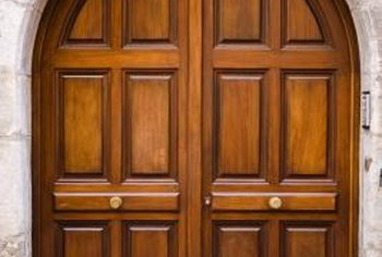 Astragals for custom doors are often installed by a finish carpenter. & How to Install Astragal on a Pair of Doors   Home Guides   SF Gate
