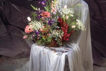 Tabletop Floral Arrangements Add Emphasis And Importance To A Meal Or Event.
