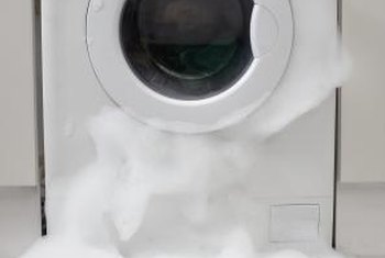 You have to look inside your washer to diagnose the cause of poor draining.