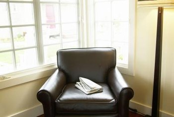Recliners can go in corners for a cozy reading space leaving the couch more room.