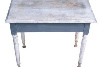 Shabby Chic Colors For Furniture : How to shabby chic a wood table home guides sf gate