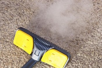 Prepare to wait several hours before walking on carpets that have been cleaned with shampoo, not steam.