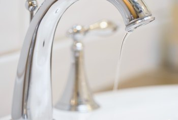Your landlord's likely not responsible for minor problems, such as a leaking faucet.