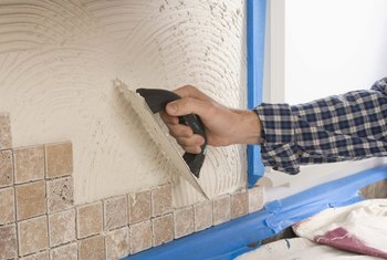 Grout binds tile together while also keeping them far enough apart to prevent chips and cracks.