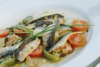 Pickled herring is prepared from Atlantic herring.