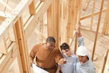 A production builder will usually build the same house plans over and over.