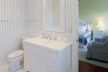 Water Resistent Materials Have Made Wainscoting A Viable Option For Bathrooms