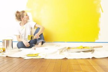 how to decorate a bedroom with yellow walls home guides sf gate