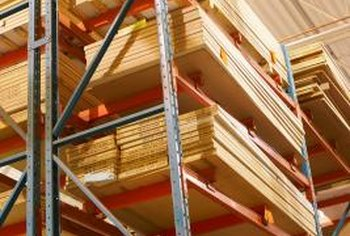 Plywood or 3/4-inch 4-by-8 OSB sheets are used as materials for subfloors.