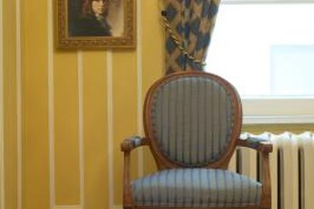 Color and detail were important in a Victorian decor.