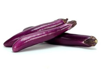 Japanese eggplant has a longer, more slender appearance.