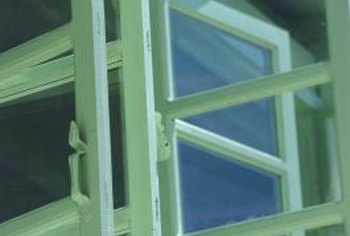 Replace window putty if it has become old and cracked.