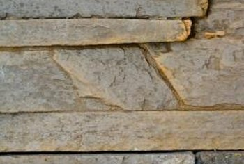 Cultured stone may have mortared joints or tight joints.
