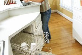 Gravity does some of the work, but a pump speeds drainage in your dishwasher.