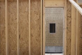 Installing insulation during construction provides easy access.
