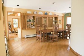 Cabinet room dividers spearate any space, such as kitchen and dining areas.