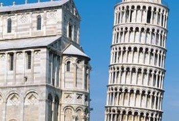 Pisa's famous Leaning Tower is seriously out of plumb.