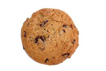 Chocolate chips contain more fiber per cup than raisins or walnuts.