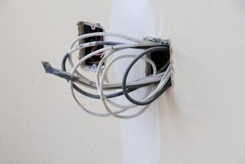 Running electrical cable usually doesn't require drywall removal.