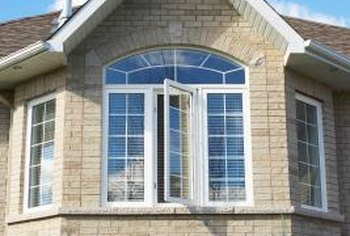 You can install window grids in a variety of window shapes.