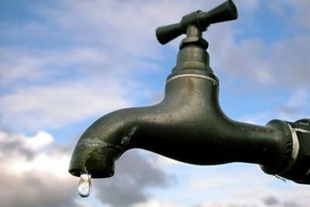 Stop leaks on an outdoor faucet by replacing the washer.