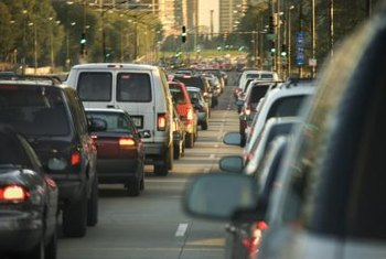 Driving less reduces congestion and thus the total emissions of your city.