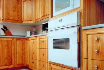 Natural Homemade Cleaners Keep Wood Cabinets Looking Their Best.