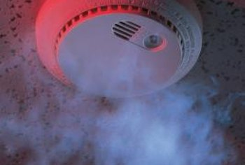 Image result for home smoke detector in a fire