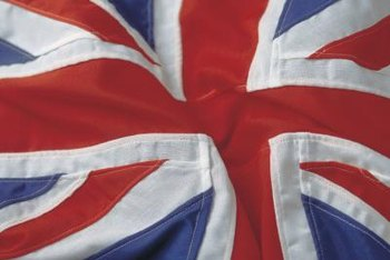 The British flag remains one of the most recognizable symbols of the punk rock movement.