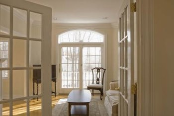Furniture placement in a room with multiple entrances requires careful consideration.