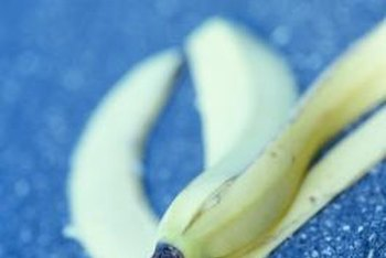Bananas peels are feel-good food for your roses.