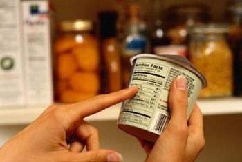 Nutrition labels help you spot bad fats in food.