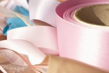 Ribbons or twill tape can convert a shade to a tie-up shade.