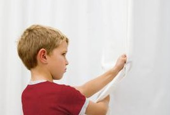 A home with young children requires child-safe window treatments.
