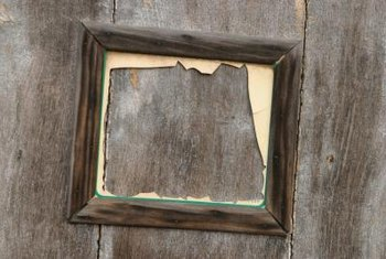Rustic frames are hard to find.