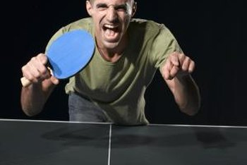 Ping-pong tables are routinely abused.