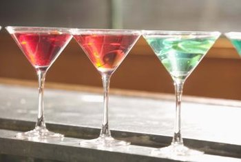 Martinis have evolved to include dozens of colorful, fruity concoctions.