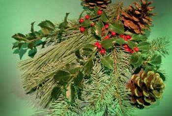 Incorporate different types of evergreens into your landscape.