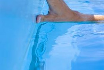 Pool liners create a barrier between the wall and the water to prevent damage.