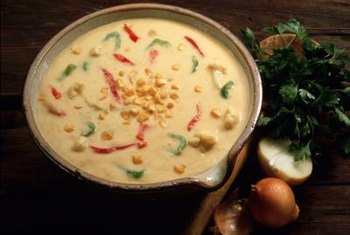 Make cauliflower soup low-sodium by using low-sodium broth.