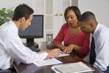 When getting a mortgage, question the loan officer about any unclear items.