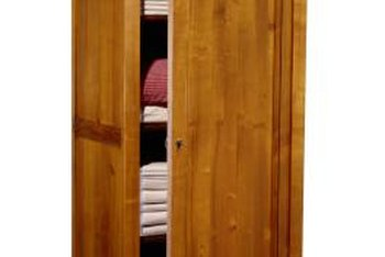 Cedar Armoires Help Keep Clothing And Linens Free Of Moths.