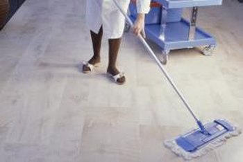 How To Clean A Floor With A Microfiber Pad Home Guides SF Gate - Easiest way to mop tile floors