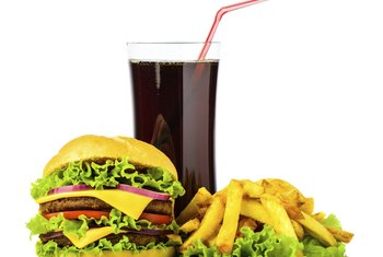 Stay away from fast food if you're trying to lose weight.