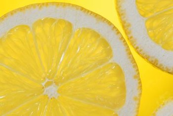 Small sections of lemons add organic material to your compost.